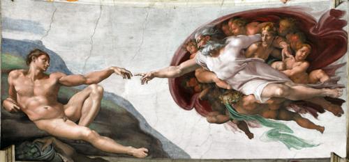 God - Sistine Chapel